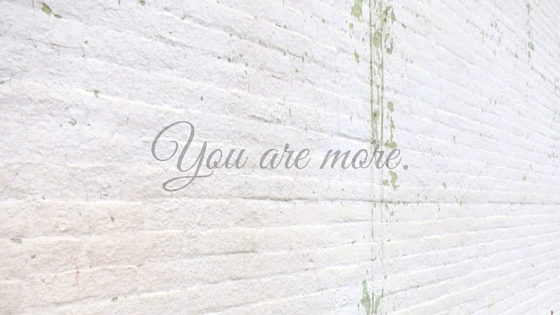 You are more..jpg