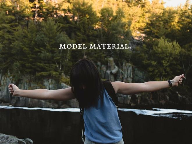 model material.2