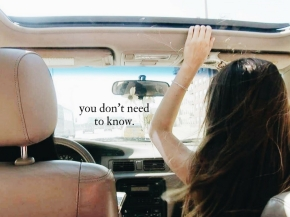 you don't need toknow.