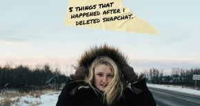 5 things that happened after i deleted snapchat.
